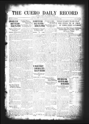 The Cuero Daily Record (Cuero, Tex.), Vol. 58, No. 65, Ed. 1 Sunday, March 18, 1923