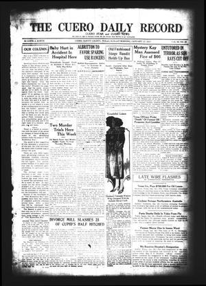 The Cuero Daily Record (Cuero, Tex.), Vol. 62, No. 20, Ed. 1 Sunday, January 25, 1925