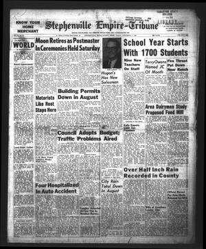 Primary view of Stephenville Empire-Tribune (Stephenville, Tex.), Vol. 92, No. 37, Ed. 1 Friday, September 7, 1962