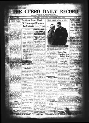 The Cuero Daily Record (Cuero, Tex.), Vol. 62, No. 75, Ed. 1 Monday, March 30, 1925