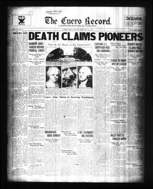The Cuero Record. (Cuero, Tex.), Vol. 41, No. 44, Ed. 1 Friday, February 22, 1935