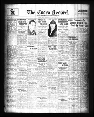 The Cuero Record. (Cuero, Tex.), Vol. 41, No. 13, Ed. 1 Wednesday, January 16, 1935