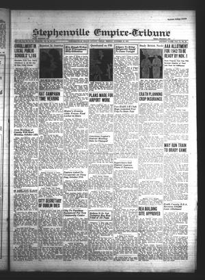 Primary view of Stephenville Empire-Tribune (Stephenville, Tex.), Vol. 71, No. 41, Ed. 1 Friday, October 10, 1941