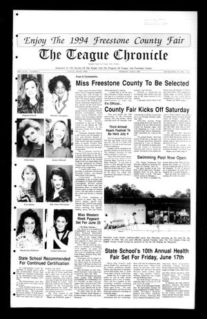Primary view of The Teague Chronicle (Teague, Tex.), Vol. 88, No. 2, Ed. 1 Thursday, June 9, 1994