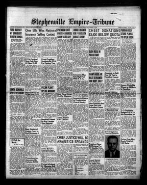 Stephenville Empire-Tribune (Stephenville, Tex.), Vol. 79, No. [43], Ed. 1 Friday, November 4, 1949