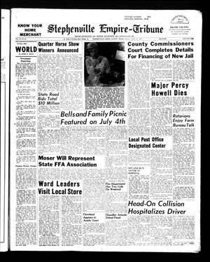Stephenville Empire-Tribune (Stephenville, Tex.), Vol. 93, No. 24, Ed. 1 Friday, June 21, 1963