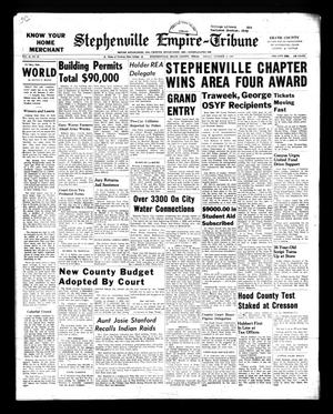 Stephenville Empire-Tribune (Stephenville, Tex.), Vol. 93, No. 39, Ed. 1 Friday, October 4, 1963