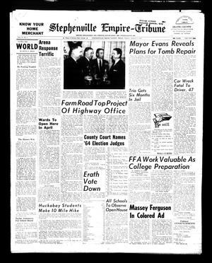 Stephenville Empire-Tribune (Stephenville, Tex.), Vol. 93, No. 9, Ed. 1 Friday, March 1, 1963