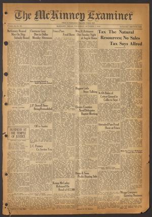 The McKinney Examiner (McKinney, Tex.), Vol. 50, No. 49, Ed. 1 Thursday, October 1, 1936