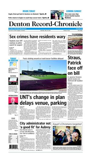 Denton Record-Chronicle (Denton, Tex.), Vol. 113, No. 298, Ed. 1 Saturday, May 27, 2017