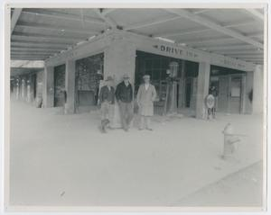 Primary view of object titled '[Service Station in Cockrum Building]'.