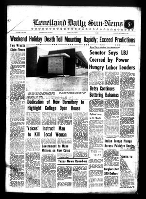 Primary view of object titled 'Levelland Daily Sun-News (Levelland, Tex.), Vol. 24, No. 210, Ed. 1 Monday, September 6, 1965'.