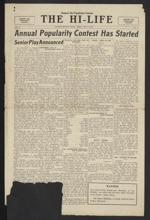 The Hi-Life (Sulphur Springs, Tex.), Vol. 8, No. 11, Ed. 1 Friday, May 4, 1928