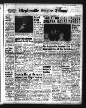 Primary view of Stephenville Empire-Tribune (Stephenville, Tex.), Vol. 89, No. 9, Ed. 1 Friday, February 27, 1959