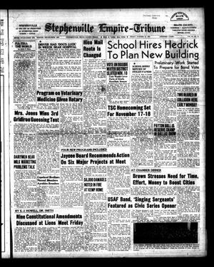 Primary view of Stephenville Empire-Tribune (Stephenville, Tex.), Vol. 86, No. 41, Ed. 1 Friday, October 12, 1956