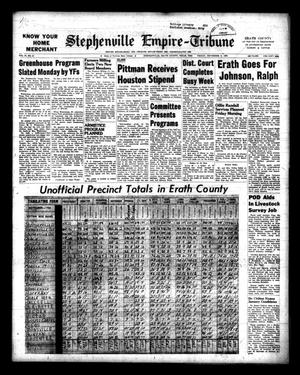 Primary view of object titled 'Stephenville Empire-Tribune (Stephenville, Tex.), Vol. 94, No. 47, Ed. 1 Friday, November 6, 1964'.
