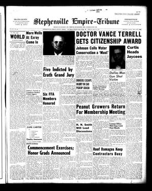Primary view of object titled 'Stephenville Empire-Tribune (Stephenville, Tex.), Vol. 90, No. 22, Ed. 1 Friday, May 27, 1960'.
