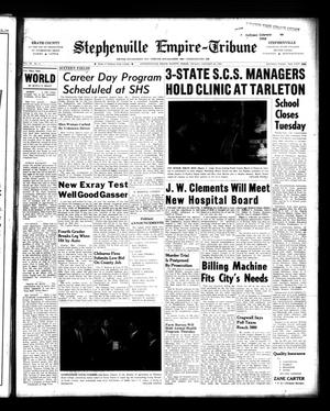 Primary view of object titled 'Stephenville Empire-Tribune (Stephenville, Tex.), Vol. 90, No. 5, Ed. 1 Friday, January 29, 1960'.