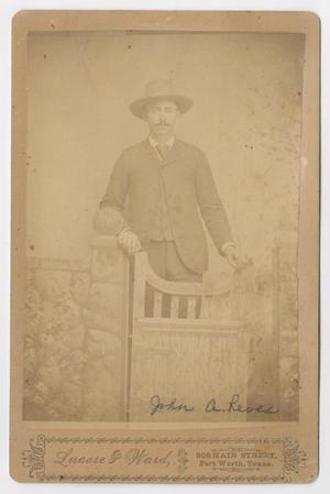 [Portrait of John A. Reeves]