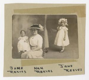 [Portrait of Jane and Nan Reeves]