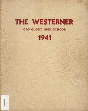 Primary view of object titled 'The Westerner, Yearbook for Old Glory Students, 1941'.