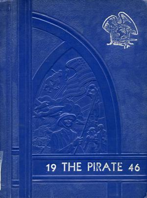 Primary view of object titled 'The Pirate, Yearbook for Old Glory Students, 1946'.