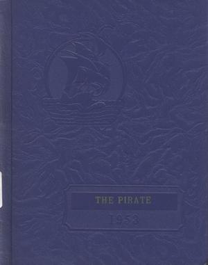 Primary view of object titled 'The Pirate, Yearbook for Old Glory Students, 1953'.