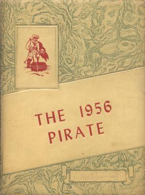 Primary view of object titled 'The Pirate, Yearbook for Old Glory Students, 1956'.