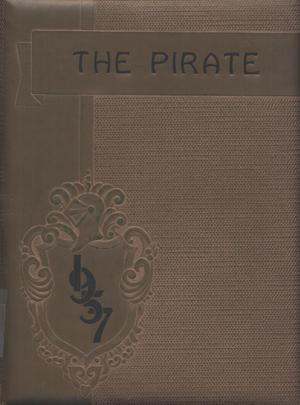 Primary view of object titled 'The Pirate, Yearbook for Old Glory Students, 1957'.