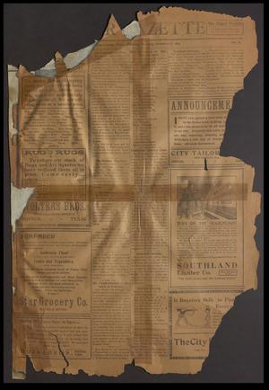 Primary view of object titled 'Shiner Gazette (Shiner, Tex.), Vol. [22], No. 15, Ed. 1 Thursday, December 17, 1914'.