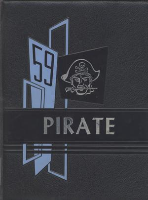 Primary view of object titled 'The Pirate, Yearbook for Old Glory Students, 1959'.