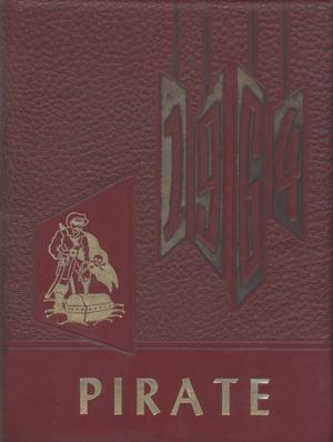 Primary view of object titled 'The Pirate, Yearbook for Old Glory Students, 1964'.