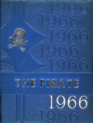 Primary view of object titled 'The Pirate, Yearbook for Old Glory Students, 1966'.