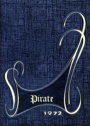 Primary view of object titled 'The Pirate, Yearbook for Old Glory Students, 1972'.