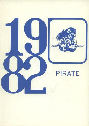 Primary view of object titled 'The Pirate, Yearbook for Old Glory Students, 1982'.
