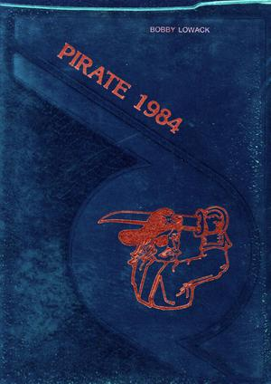 Primary view of object titled 'The Pirate, Yearbook for Old Glory Students, 1984'.