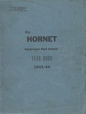 Primary view of object titled 'The Hornet, Yearbook of Aspermont Students, 1944'.