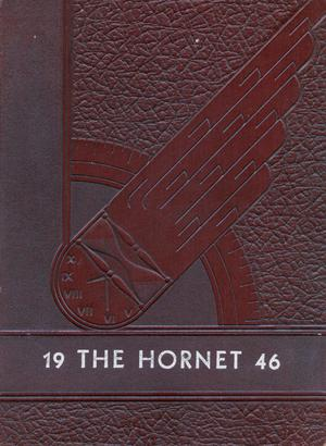 Primary view of object titled 'The Hornet, Yearbook of Aspermont Students, 1946'.