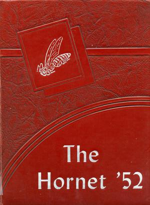 Primary view of object titled 'The Hornet, Yearbook of Aspermont Students, 1952'.