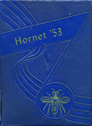 Primary view of object titled 'The Hornet, Yearbook of Aspermont Students, 1953'.