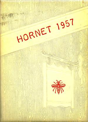 The Hornet, Yearbook of Aspermont Students, 1957