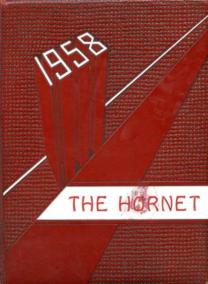 The Hornet, Yearbook of Aspermont Students, 1958