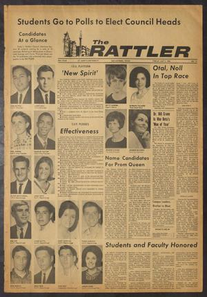 Primary view of object titled 'The Rattler (San Antonio, Tex.), Vol. 50, No. 13, Ed. 1 Friday, May 6, 1966'.