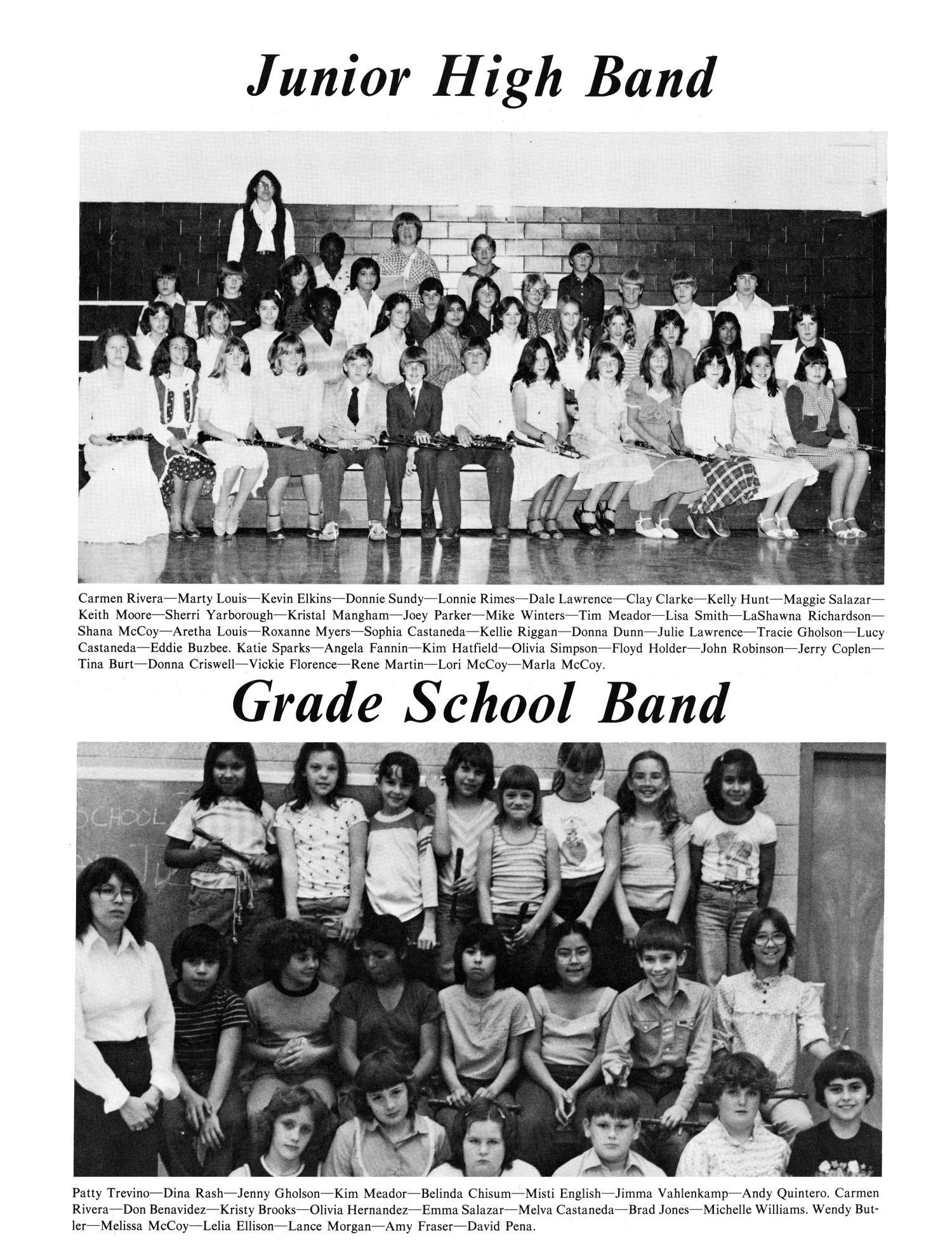 the hornet yearbook of aspermont students page the the hornet yearbook of aspermont students 1982 page 58 the portal to texas history