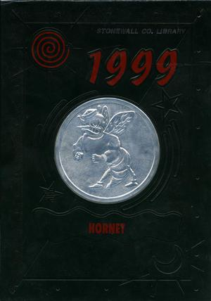 Primary view of object titled 'The Hornet, Yearbook of Aspermont Students, 1999'.