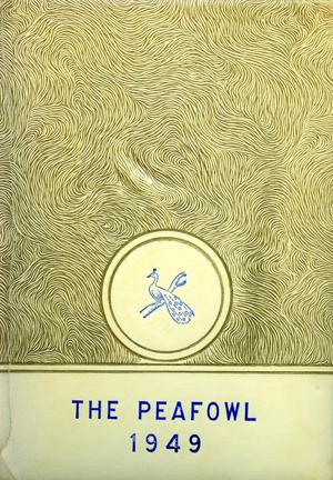 The Peafowl, Yearbook for Peacock Students, 1949