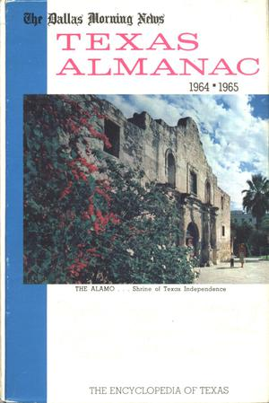 Primary view of object titled 'Texas Almanac, 1964-1965'.