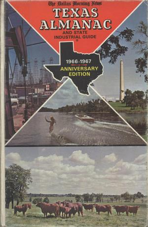 Primary view of object titled 'Texas Almanac, 1966-1967'.