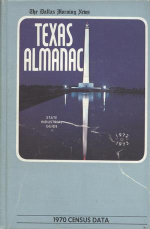 Primary view of object titled 'Texas Almanac, 1972-1973'.