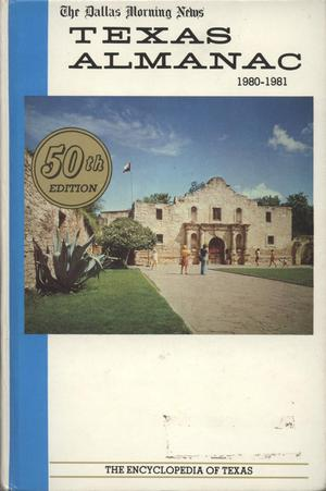 Primary view of object titled 'Texas Almanac, 1980-1981'.